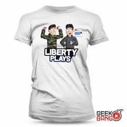 Tričko LibertyPlays, dámské