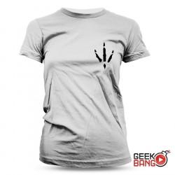 Tričko Kuře gray, dámské