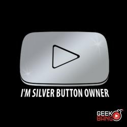 Tričko Youtuber, silver