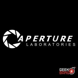Triko Portal - Aperture černé