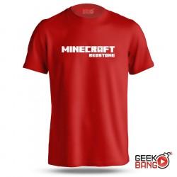 Tričko Minecraft Redstone