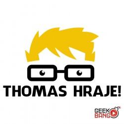 Tričko Thomas hraje! bílé
