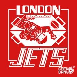Triko Dave Lister - London Jets Dámské