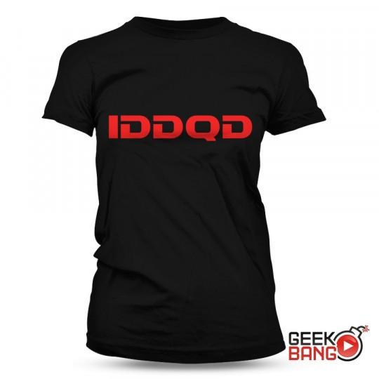 Tričko DooM - IDDQD, dámské