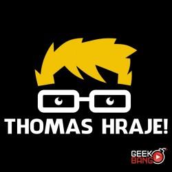 Tričko Thomas hraje! černé, dámské
