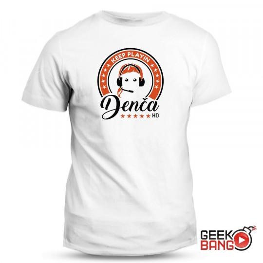 Tričko Denča HD logo