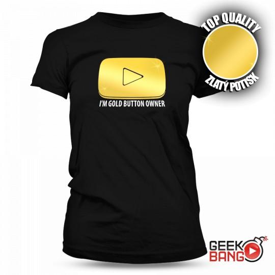 Tričko Gold Button