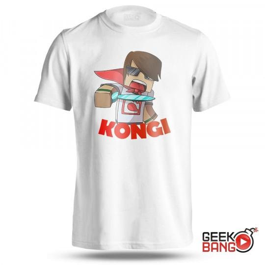 Tričko Kongi - bílé