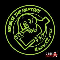 Tričko Kordus - raptor, dámské