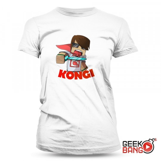 Tričko Kongi - bílé, dámské
